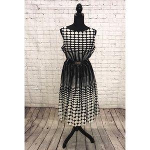 Talbots Oval-Dot Dress